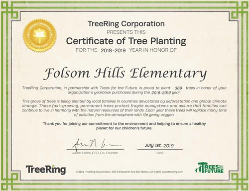 369 trees planted