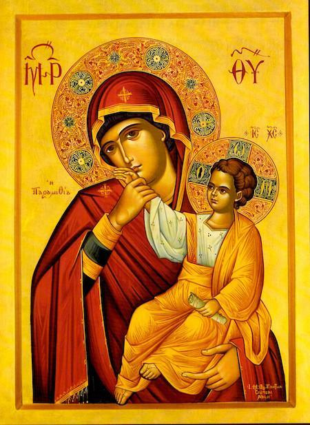 Icon of Jesus and Mary, Mother of God