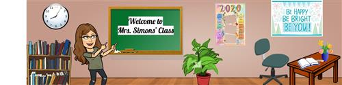 Welcome to Mrs. Simons' class!