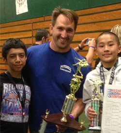 Mr. Fanshier and Mitchell Wrestlers Place 4th in Northern Califorina in 2013