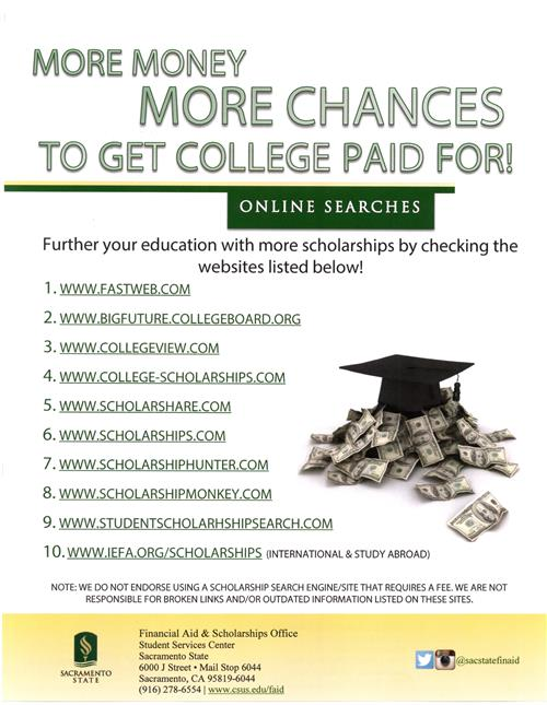 Counseling / SCHOLARSHIPS & FINANCIAL AID