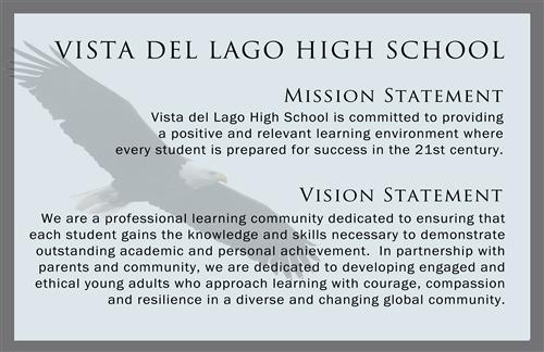 VDLHS Mission/Vision Statement