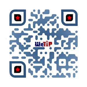 QR Code for We Tip to report vandalism and mischief at or around schools