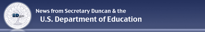 U.S. Department of Education banner